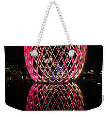 Weekender Tote Bag featuring the photograph The Egg by Mark Dodd