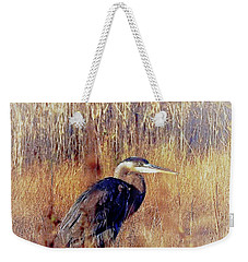 The Egret Weekender Tote Bag