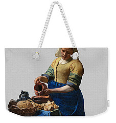 The Elegance Of The Kitchen Maid Weekender Tote Bag