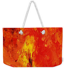 The Elements Fire #1 Weekender Tote Bag