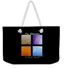 The Elements Weekender Tote Bag by Rachel Hannah