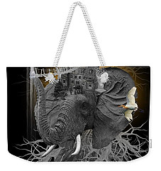 The Elephant Kingdom Weekender Tote Bag