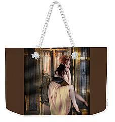 The Elevator Girl Weekender Tote Bag