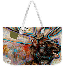 The Elk Weekender Tote Bag