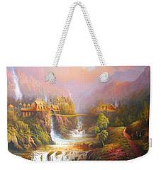 Kingdom Of The Elves Weekender Tote Bag