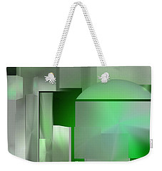 The Emerald City Weekender Tote Bag by John Krakora