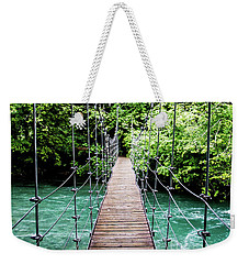 The Emerald Crossing Weekender Tote Bag