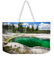 The Emerald Eye Weekender Tote Bag