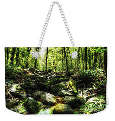 The Emerald Forest Weekender Tote Bag by Jimmy Ostgard