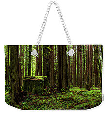 The Emerald Forest Weekender Tote Bag