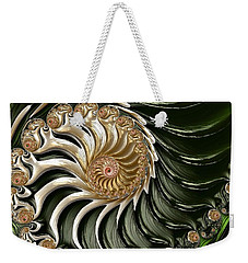 The Emerald Queen's Nautilus Weekender Tote Bag