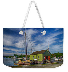 The Emma C. Berry, Mystic Seaport Museum Weekender Tote Bag