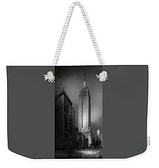 Weekender Tote Bag featuring the photograph The Empire State Ch by Marvin Spates