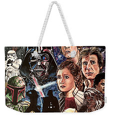 The Empire Strikes Back Weekender Tote Bag