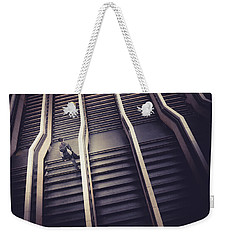 The Empty Train Weekender Tote Bag