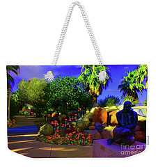 Weekender Tote Bag featuring the photograph The Enchanted Walk by Sherri Of Palm Springs