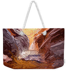 The Encroaching Ocean Weekender Tote Bag