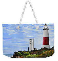 The End Weekender Tote Bag by Donna Blossom