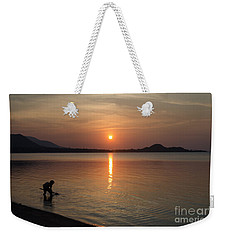 The End Of A Hot Day Weekender Tote Bag by Michelle Meenawong
