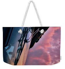 Weekender Tote Bag featuring the photograph The End Of A Long Day by Mark Dodd