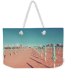 The End Of Summer Season  Weekender Tote Bag
