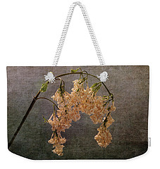 Weekender Tote Bag featuring the photograph The End Of The Lilacs by Randi Grace Nilsberg