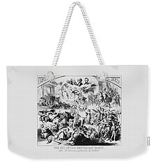 The End Of The Republican Party Weekender Tote Bag by War Is Hell Store