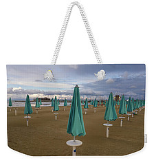 The End Of The Season In Rimini Weekender Tote Bag