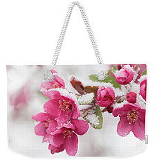 The End Of Winter Weekender Tote Bag by Ana V Ramirez