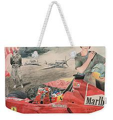 The Enigma Of Erich Hartmann Weekender Tote Bag