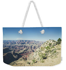 Weekender Tote Bag featuring the photograph The Enormity Of It All by Margaret Pitcher