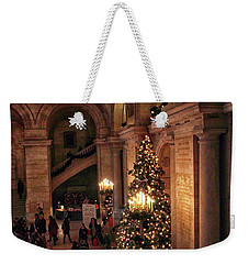 Weekender Tote Bag featuring the photograph A Golden Entrance by Jessica Jenney