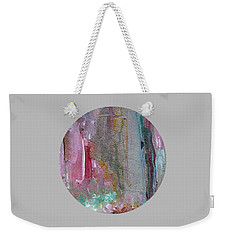 Weekender Tote Bag featuring the painting The Entrance by Mary Wolf