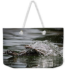 Weekender Tote Bag featuring the photograph The Escape by Douglas Stucky