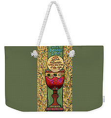 The Eucharist Weekender Tote Bag
