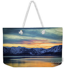 The Evening Colors Weekender Tote Bag by Mitch Shindelbower