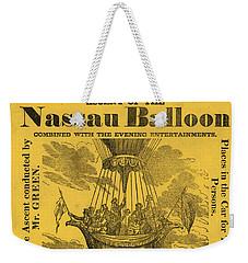 The Evening Fete Weekender Tote Bag