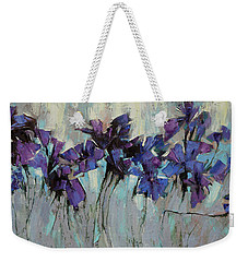 The Evening Was Silver. Weekender Tote Bag