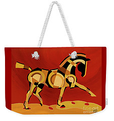 The Extension Of Equus Weekender Tote Bag