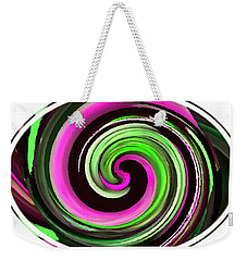 Weekender Tote Bag featuring the painting The Eye by Catherine Lott