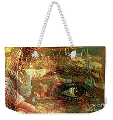 The Eye Maker Weekender Tote Bag by Michael Cinnamond