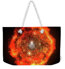 The Eye Of Cyma - Fire And Ice - Frame 146 Weekender Tote Bag
