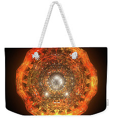 The Eye Of Cyma - Fire And Ice - Frame 160 Weekender Tote Bag