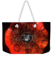 The Eye Of Cyma - Fire And Ice - Frame 40 Weekender Tote Bag