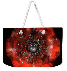 The Eye Of Cyma - Fire And Ice - Frame 45 Weekender Tote Bag