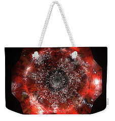 The Eye Of Cyma - Fire And Ice - Frame 49 Weekender Tote Bag