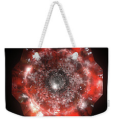 The Eye Of Cyma - Fire And Ice - Frame 50 Weekender Tote Bag
