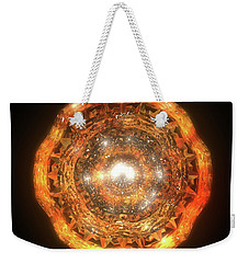 The Eye Of Cyma - Fire And Ice - Frame 7 Weekender Tote Bag