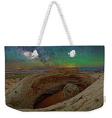 The Eye Of Earth Weekender Tote Bag