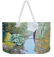 The Eye Of The Garden Weekender Tote Bag